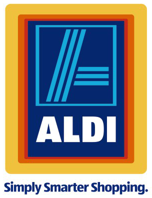 ALDI Logo with Tagline