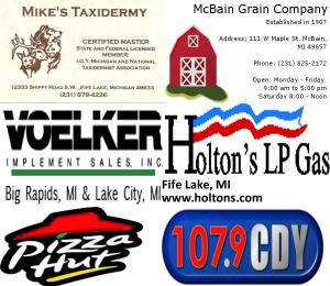 Buck Pole 2014 Sponsors