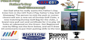 Putt 2 Play Father's Day Golf Giveaway!